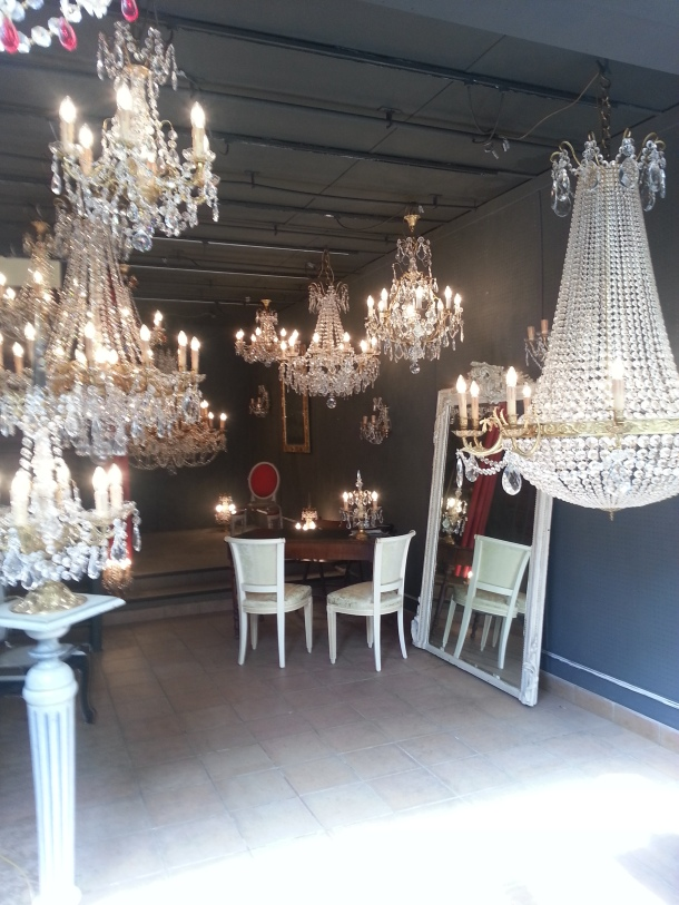 Incredible chandelliers.