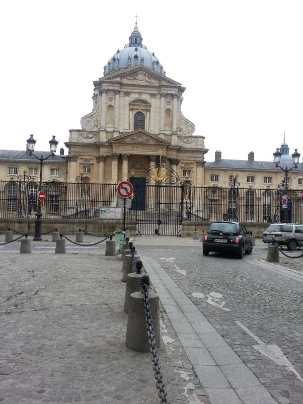 Not sure wha this building is .  I think the original Eglise de  Val de Grace.
