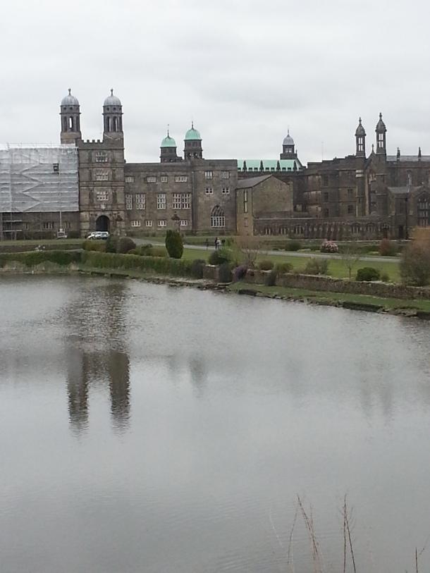Imposing Stonyhurst College