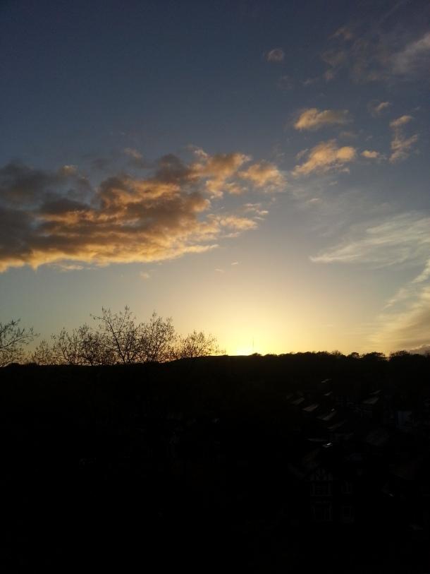 Lovely sunsets